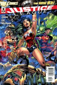 Justice League (2011 series) #3, NM + (Stock photo)