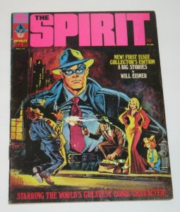 The Spirit #1 April 1974 Warren Magazine FN/VF