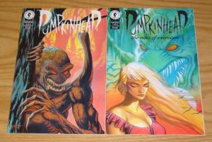 Pumpkinhead: Rites of Exorcism #1-2 FN/VF complete series - dark horse comics