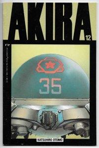 Akira #12 Katsuhiro Otomo (Epic/Marvel, 1989) VF