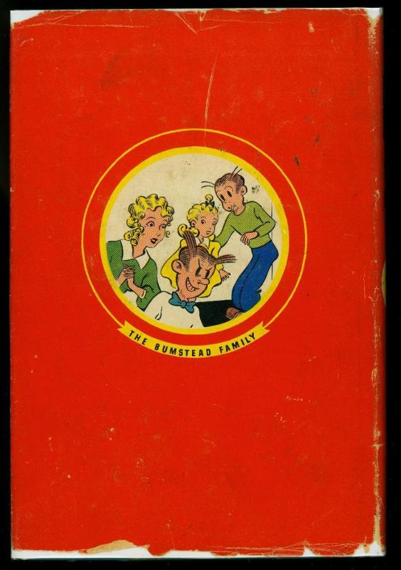 Blondie and Dagwood's Marvelous Invention w/ dust jacket Whitman #2333