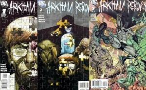 ARKHAM REBORN (2009) 1-3  Batman tie-in