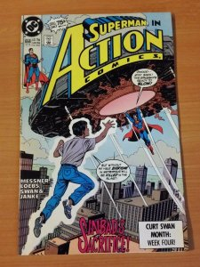 Action Comics #658 ~ NEAR MINT NM ~ 1990 DC Comics