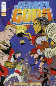 Jersey Gods #4 VF/NM; Image   save on shipping - details inside
