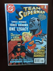 Team Superman Secret Files (1998) #1 - 8.5 VF+ - 1998