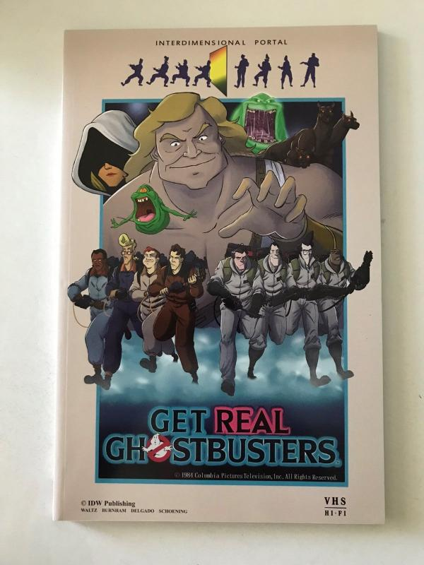 Ghostbusters: Get Real - (IDW; Dec, 2015) - new tpb - 1st printing