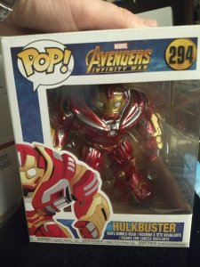 Hulkbuster Funko Pop #294 New in box