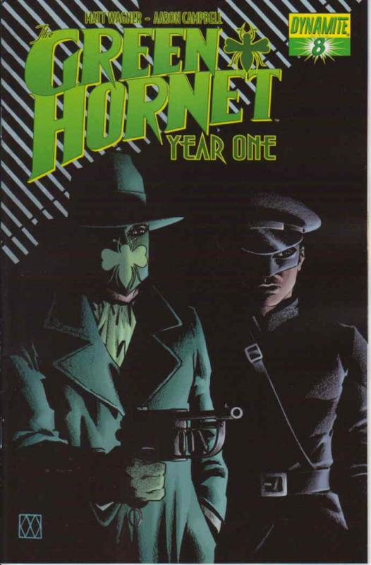 Green Hornet: Year One #8A VF/NM; Dynamite | save on shipping - details inside