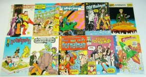 normalman #1-12 VF/NM complete series + 3-D annual - jim valentino set lot