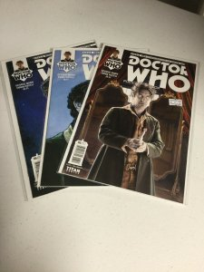 Doctor Who 3 4 5 Nm Near Mint Eighth Doctor Lot A Titan Comics