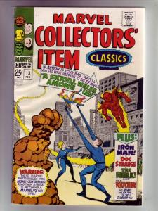 Marvel Collectors' Item #13 (Feb-68) NM- High-Grade Fantastic Four, Mr. Fanta...