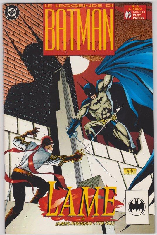 Le Legends Di Batman: Lame