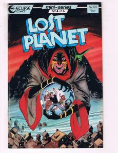 Lost Planet #4 VF Eclipse Comics Comic Book DE19