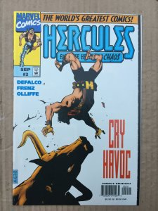 Hercules: Heart of Chaos #2 (1997)
