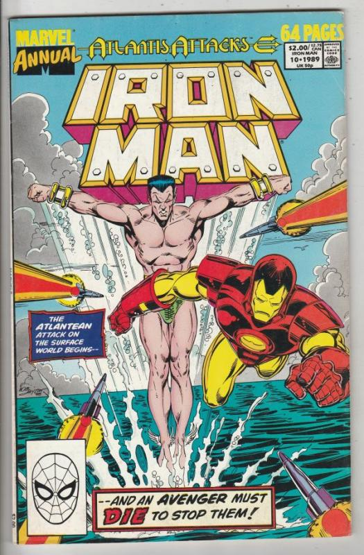 Iron Man Annual #10 (Jan-87) VF/NM High-Grade Iron Man