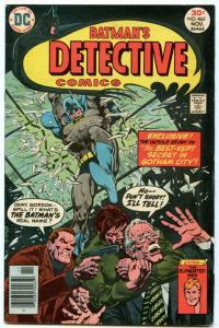 Detective Comics 465 Nov 1976 VG (4.0)