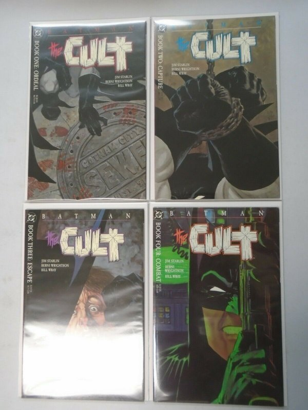 Batman The Cult set #1-4 8.0 VF (1988)