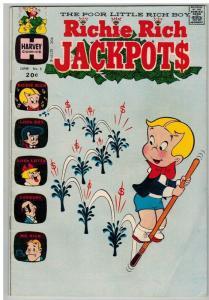 RICHIE RICH JACKPOTS (1972-1982) 5 VG June 1973 COMICS BOOK