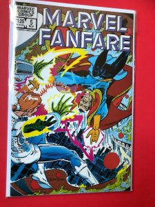 MARVEL FANFARE V1 #5 1982 MARVEL /  NM CONDITION