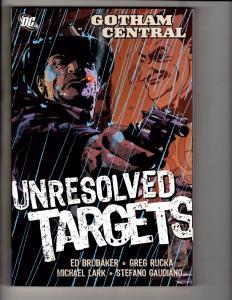 Gotham Central Vol. # 3 Unresolved Targets DC Comics Graphic Novel TPB J283