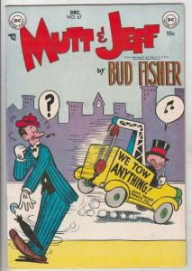 Mutt & Jeff #67 (Dec-53) VF/NM High-Grade Mutt, Jeff