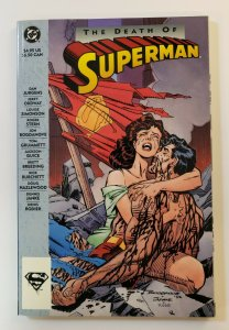 THE DEATH OF SUPERMAN TPB SOFT COVER VF/NM DC COMICS FIRST PRINT