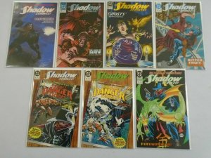 Shadow Strikes lot #1-6 + 8 8.0 VF (1989)