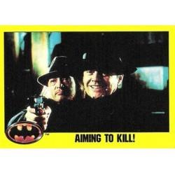 1989 Batman The Movie Series 2 Topps AIMING TO KILL! #153