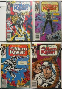 MOON KNIGHT (1989-1994 MARC SPEKTOR) 15-18 Trial Of..