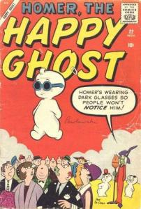 Homer The Happy Ghost (1955 series) #22, VG- (Stock photo)