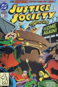 Justice Society of America #1 VF; DC | save on shipping - details inside