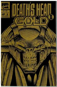 DEATHS HEAD II GOLD (1994 MARVEL UK) 1 (3.95 CVR) VF-NM COMICS BOOK