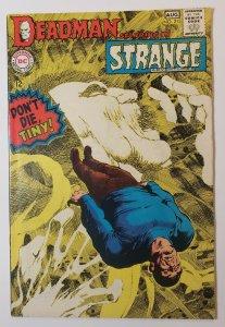 Strange Adventures #213 DC Comics Silver Age 1968 Deadman Neal Adams Art FN/VF