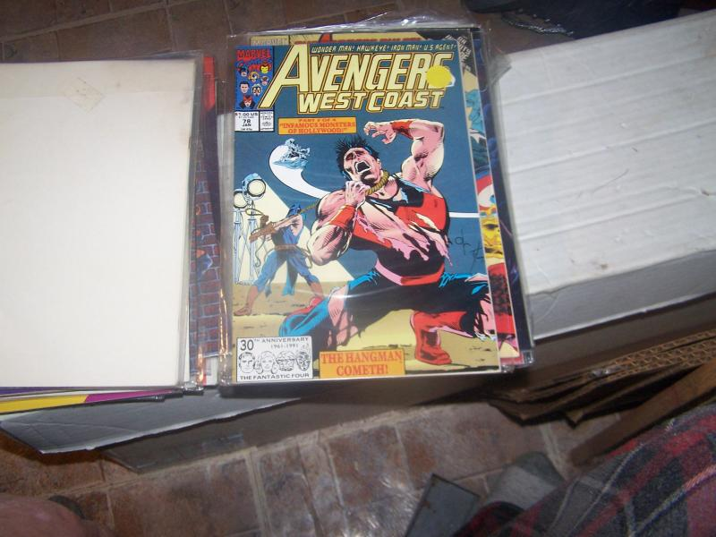 west coast avengers  #  78 JAN 1992  NIGHT SHIFT HANGMAN HOLLYWOOD