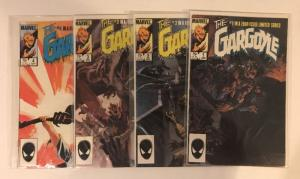The Gargoyle 1-4 Complete Near Mint Lot Set Run Wrightson