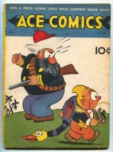 Ace Comics #49 1941- Phantom- Jungle Jim VG-