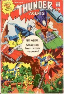 THUNDER AGENTS 19 VG   November 1968 COMICS BOOK