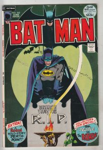 Batman #242 (Jun-72) VF High-Grade Batman