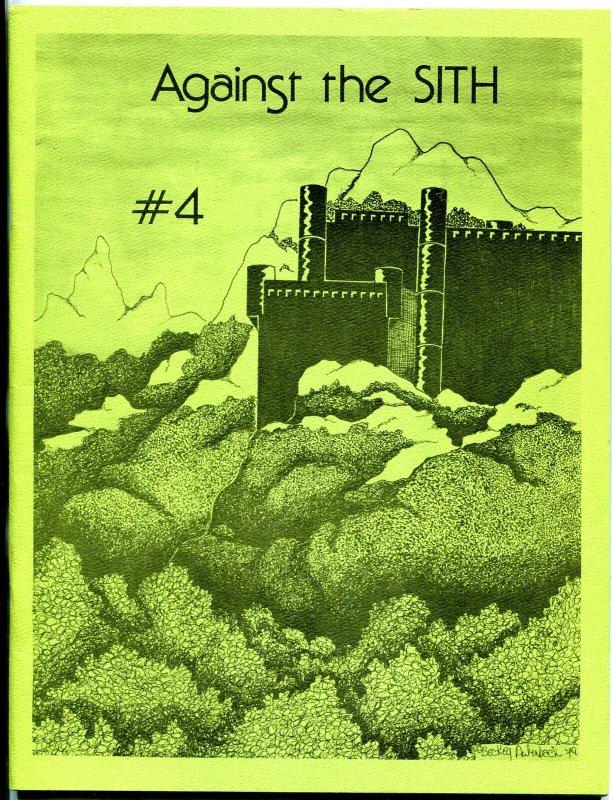 Against the Sith #4 1979-  Star Wars Fanzine Fan Fiction VF