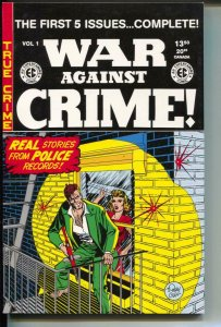 War Against Crime Annual-#1-Issues 1-5-TPB- trade