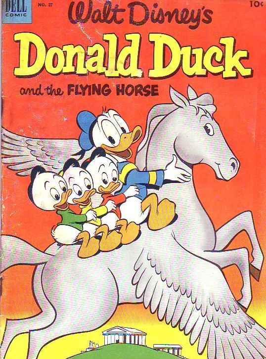 Donald Duck #27 (Jan-53) GD/VG Affordable-Grade Donald Duck