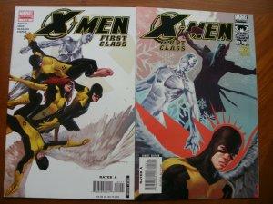 2 Marvel Limited Series X-MEN FIRST CLASS Comic #1 #5 (2006 2007) Parker Cruz