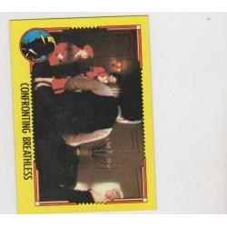 1990 Topps DICK TRACY-CONFRONTING BREATHLESS #62