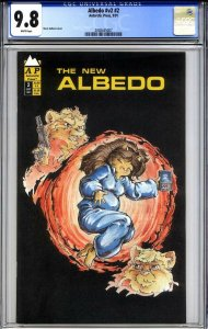 ALBEDO #2 CGC 9.8 (vol. 2, 1991) the ONLY graded copy in the census to date