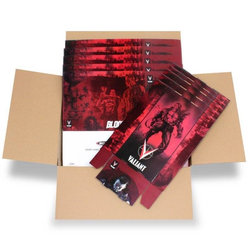 Short Comic Box - Art - Bloodshot - 5 Boxes