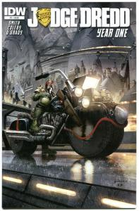 JUDGE DREDD YEAR ONE #1, NM, IDW,  2013, Police, I am the Law, more in store