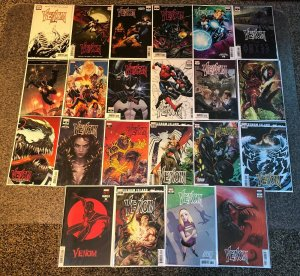 Venom 3 4th Print 9 2nd Print  20 Book Lot 1st Knull & Dylan Brock