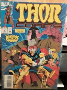 MARVEL COMICS-THOR CORPS-#1-DATED:SEPTEMBER 1993-GREAT ITEM FOR COLLECTOR'S!