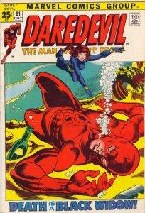 Daredevil #81 (ungraded) stock photo ID# B-10