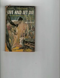 3 Books Live and Let Die Man From U.N.C.L.E The Utopia Affair Student Nurse JK11